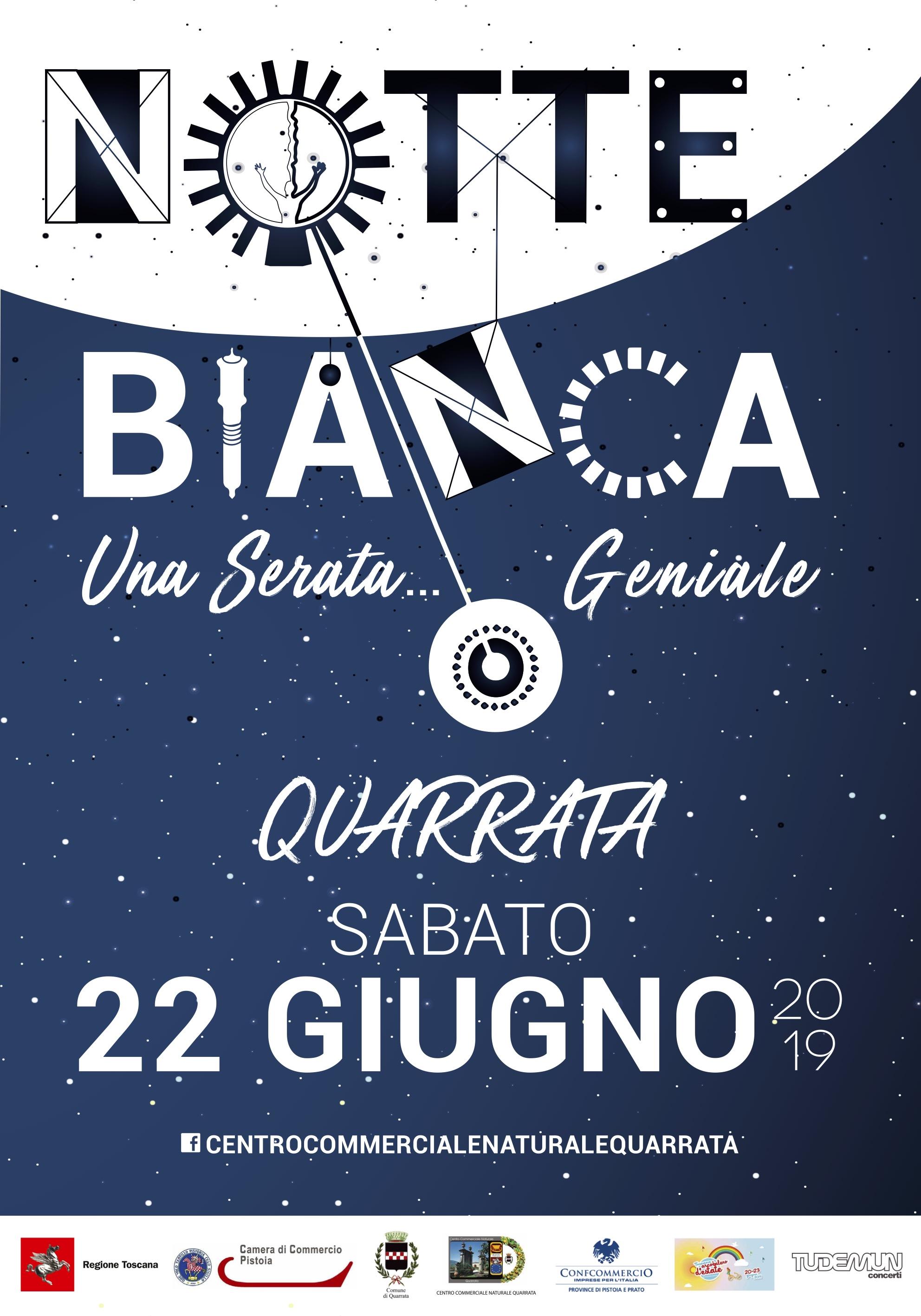Notte Bianca Quarrata 2019_70x100